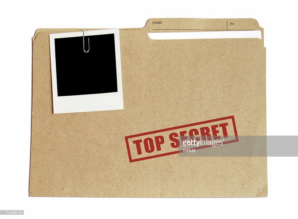 8/18 Top Secret!