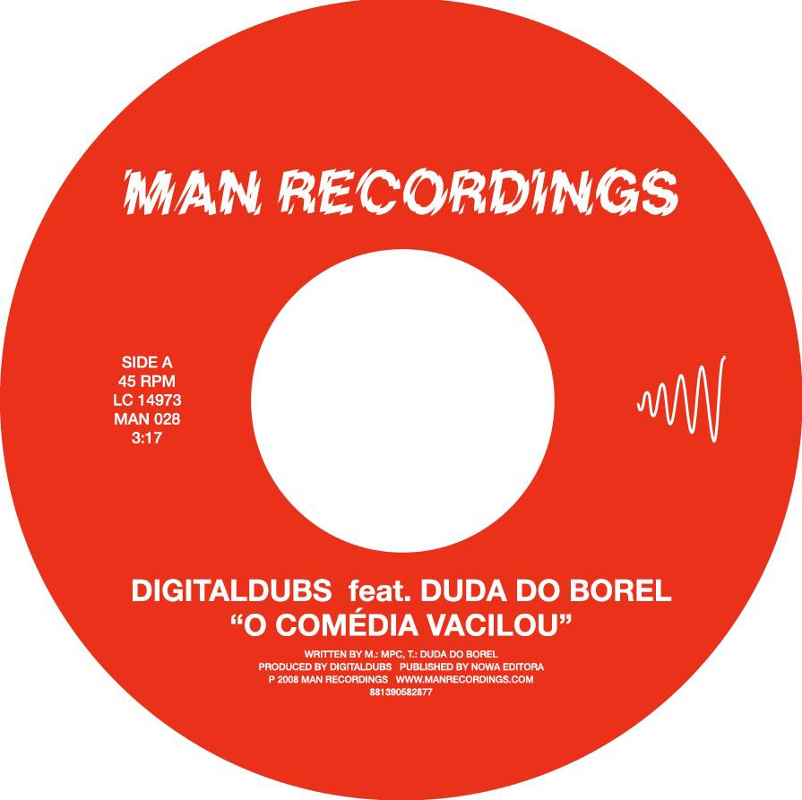 """Digitaldubs ft. Duda Do Borel - O Comédia Vacilou"""""""
