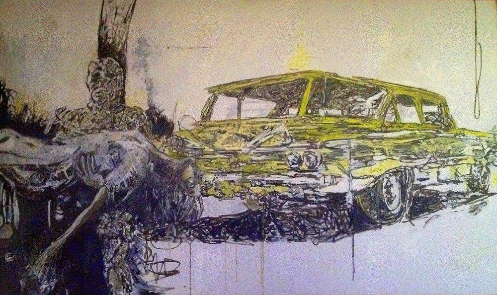 mummy's wagon by Mark Flake.JPG