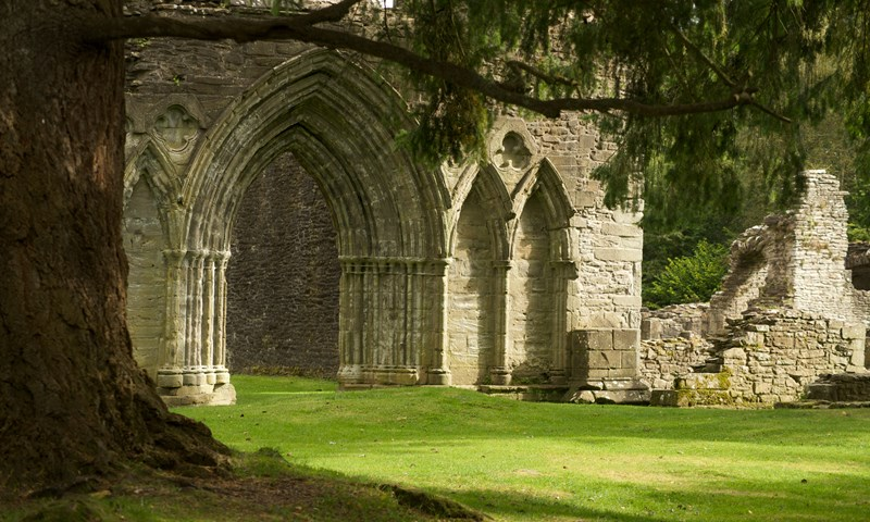 Abbey at Inchmahome Island, Trossachs -  Tour & Walk in small groups - Roaming Scotland..jpg