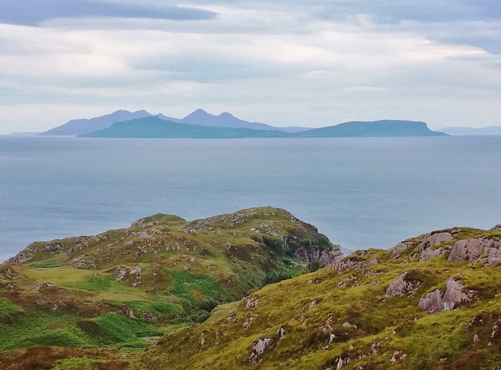 Isles of Eigg and Rum from Ardnamurchan -  Tour & Walk in small groups - Roaming Scotland..jpg