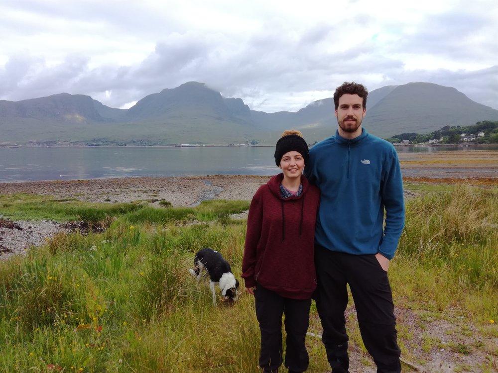 Applecross Hills, Nr Loch Carron, Scottish tours with walks, small group adventures, Roaming Scotland.jpg