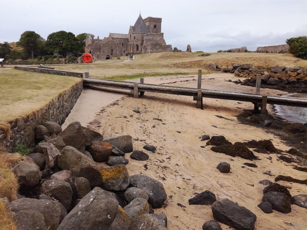 Inchcolm Abbey, Firth of Forth, Edinburgh,Scottish tours with walks, small group adventures, Roaming Scotland.jpg