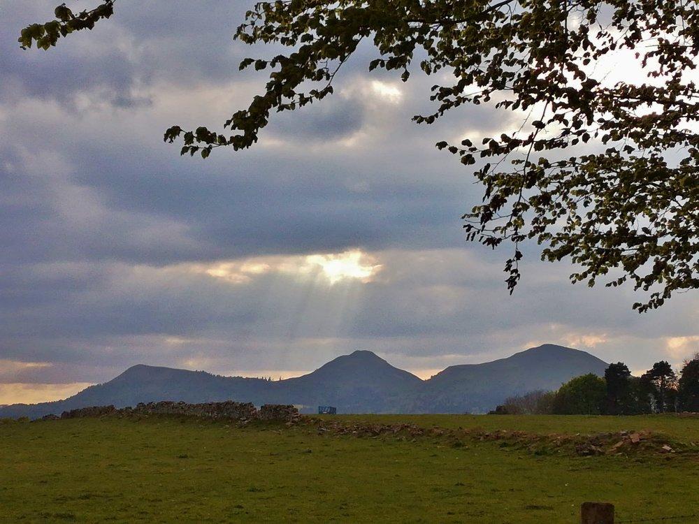 Eildon Hills, Scottish Borders - Day tours with walks from Edinburgh, small group adventures, Roaming Scotland.JPG