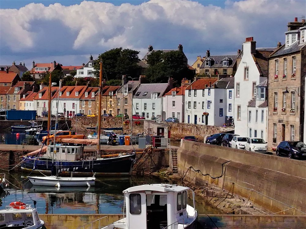 St Monan's, Fife coast - Day tours with walks from Edinburgh, small group adventures, Roaming Scotland.JPG