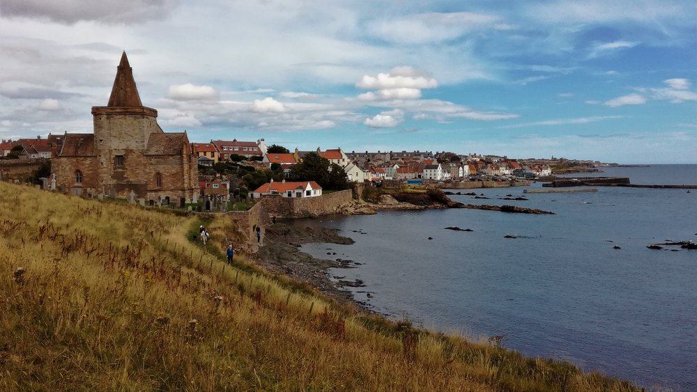 St Monan's, Fife coast, Day tours with walks from Edinburgh, small group adventures, Roaming Scotland.JPG