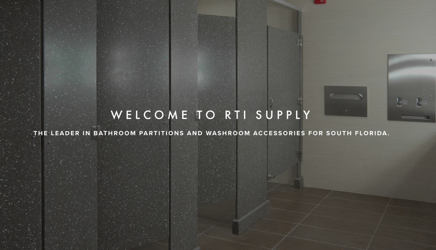 Rti Supply The Leader For Bathroom Partitions In South Florida