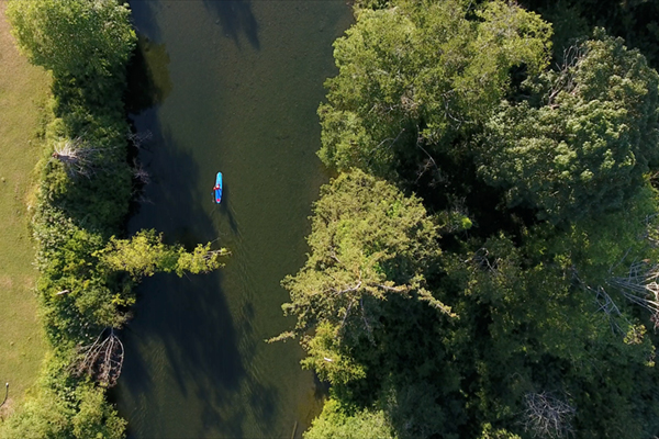 Little Q. River - paddle, fish or cool off