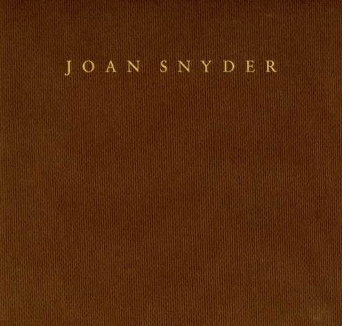 Joan Snyder - Exhibition catalogue, essay Carol Diehl, Locks Gallery, Philadelphia, 1995