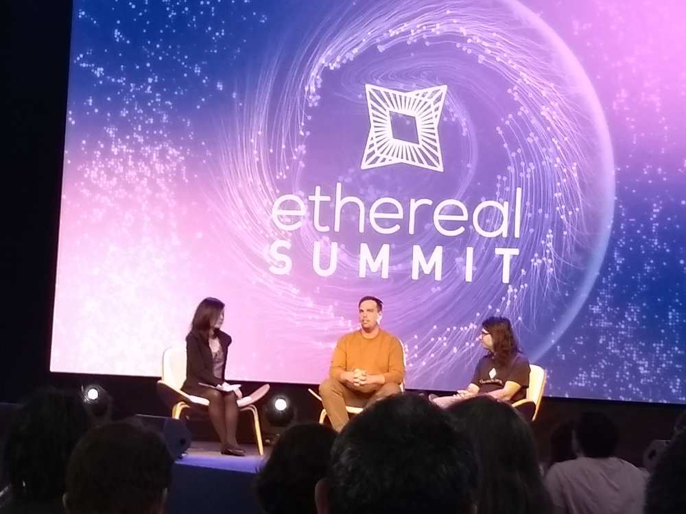 Laura Shin did not try to play nice with her guests. She was asking tough questions regarding Ethereum's governance. Middle: Nick Dodson (Senior Engineer of Consensys) Right: Vlad Zamfir (Researcher). I listen to her Unchained and Unconfirmed Podcasts to keep pulse on the crypto ecosystem.