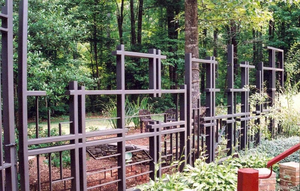 asymmetric deer fencing