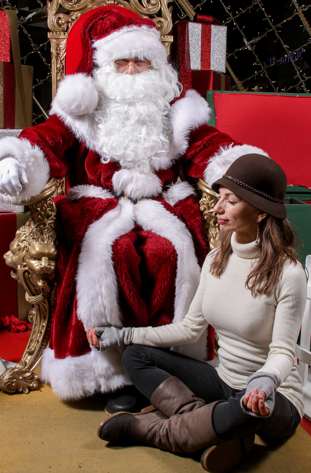 Zen Santa Claus & Sophie.jpg