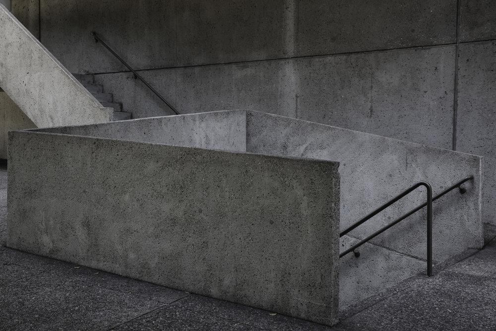 Staircase, Bonaventure Hotel