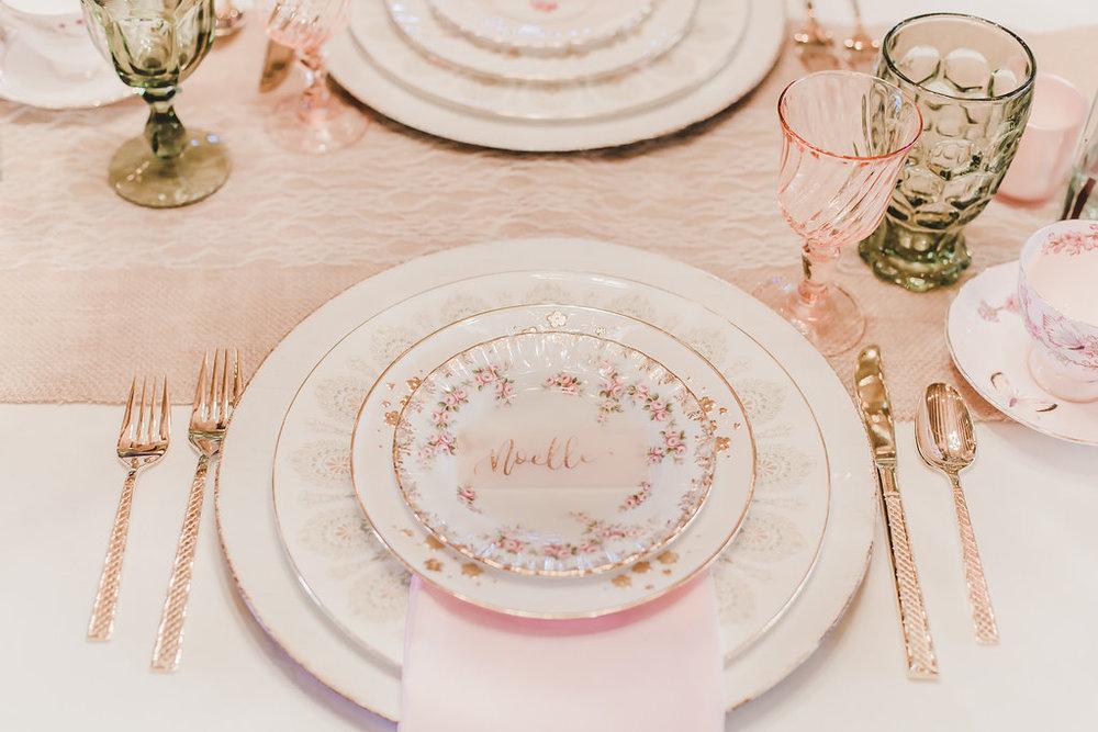 Vintage Tableware by Tea & Old Roses