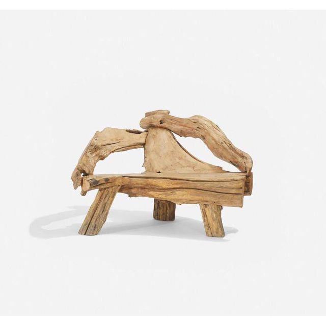 Swedish Driftwood Armchair, c. 1970
