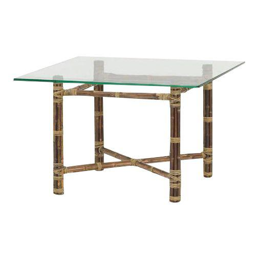 McGuire Bamboo and Brass Table