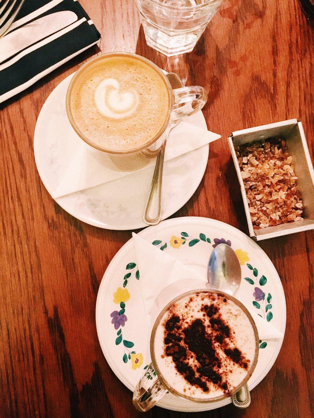 Parlour Kensal breakfast coffee