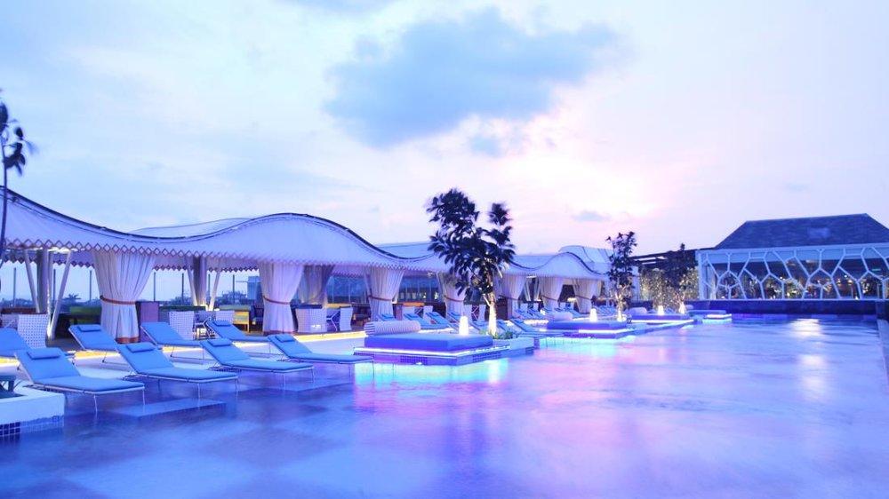 TS Suites Seminyak Rooftop Pool
