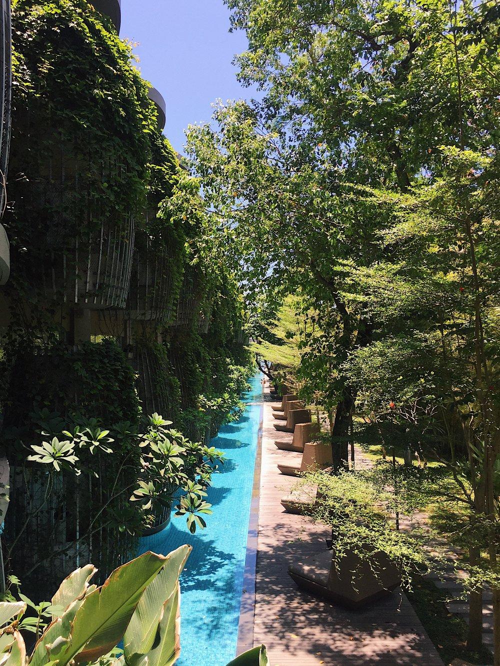 Maya Sanur lagoon pool