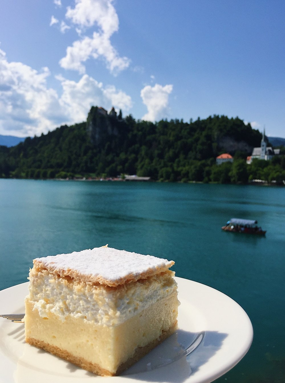 Kremsnita at Lake Bled, Slovenia | Helena Alyssa
