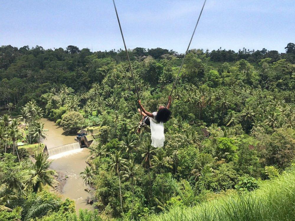 Bali swing at Zen Hideaway, Ubud | Helena Alyssa