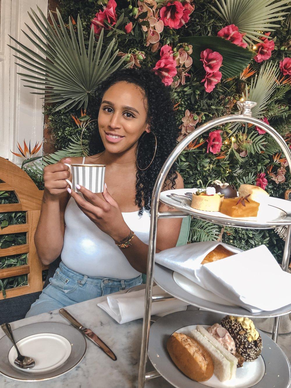 Dalloway Terrace Afternoon Tea, Helena Alyssa, Bookatable