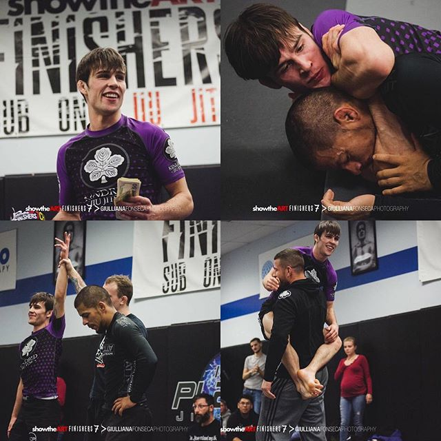 Congratulations to Workshop SEA / Kindred Jiu Jitsu competitor, @duck_jitsu for winning the @showtheart @finishers_subonly 7 flyweight championship! Austin was in a 16-man tournament, facing some of the best 125 no gi talent from around the country. Many things need to happen in order to have a performance like this (4 sub finishes), but above all is Austin's hard work paying off. All of us at Kindred & many around the PNW scene know how hard he works. But now, (many) thanks to @zachmaslany @jm_holland10p & the others @finishers_subonly he's getting the much needed exposure! Thank you for putting on a superb event and showcasing all of these competitors! PC 📸 @giullianafonseca.photo  #jiujitsucommunity #workshopbjj #kindredjiujitsu #workshopjjseattle #jiujitsufamily #yearoftheduck #finisherssubonly #showtheart #10thplanetbethlehem #finishersmma #finishersmmatv #leglocks #leglocksdontwork #nogi #subonly #hardwork