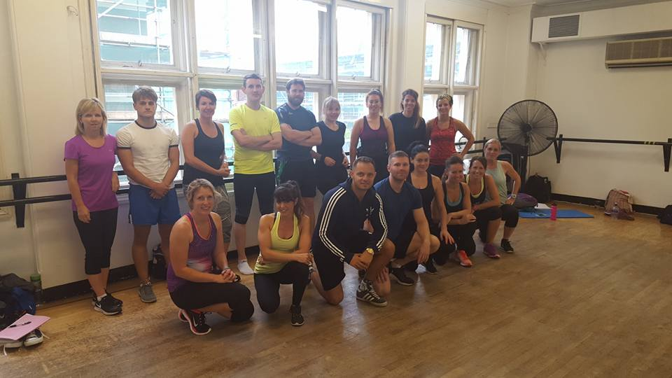 Training day in August 2016