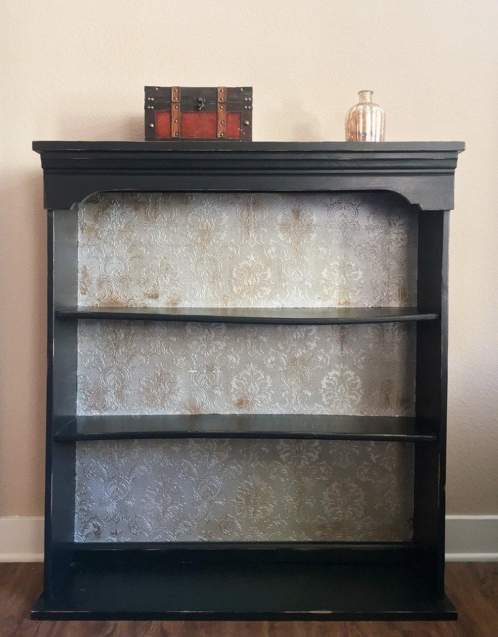 Bookshelf Refinish Abi Jeanne