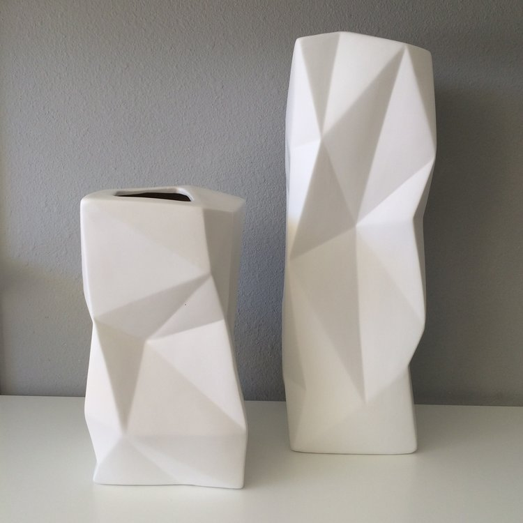Origami Vases Tom Hammond Studio
