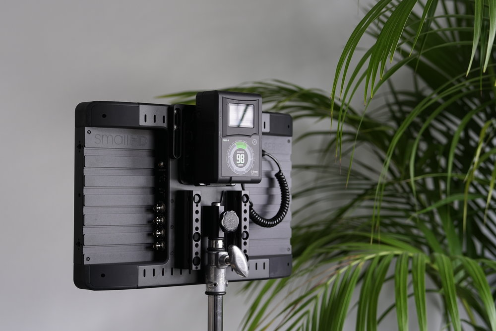 SmallHD 1703 PX3 Monitor Back View