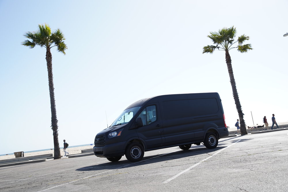 Camera Utility Van
