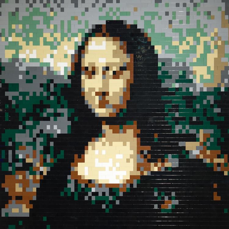 Mona Lisa - Nathan Sawaya