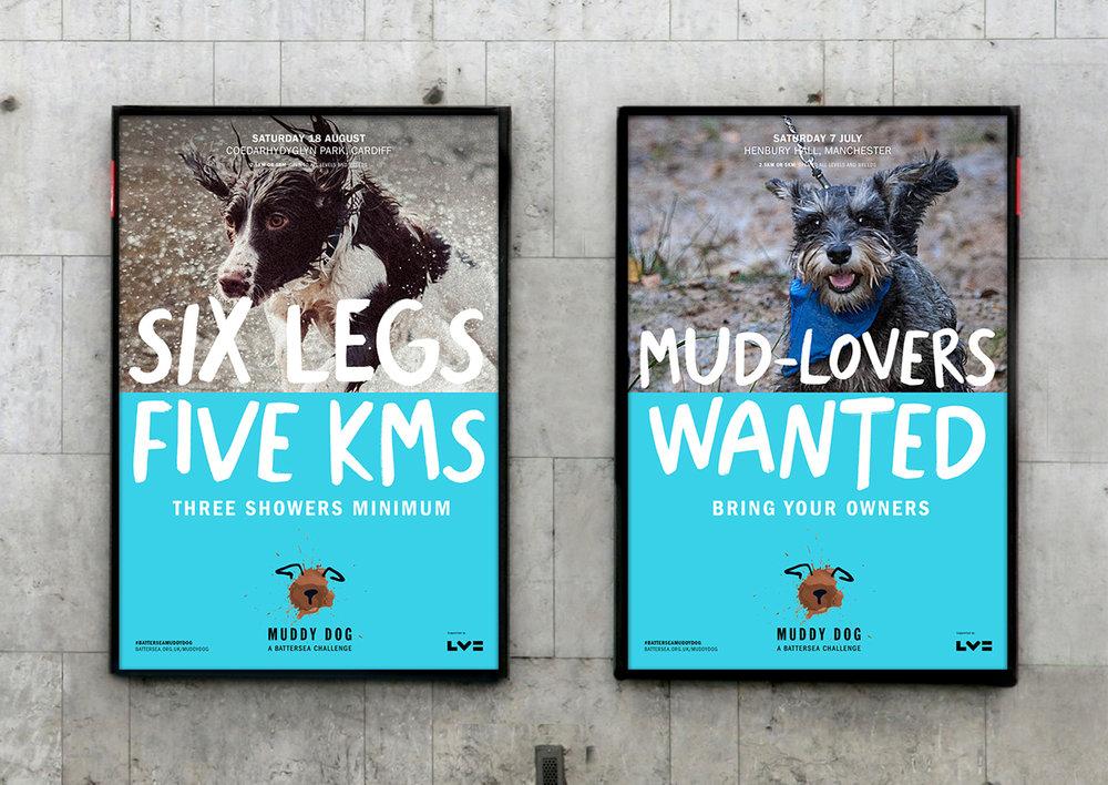 Muddy Dog Challenge: Hand Written Typeface