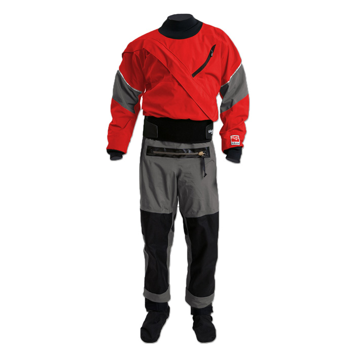 Drysuits:    Kokatat produces the finest drysuits available.  American made, they are true works of craftsmanship, and Kokatat stands behind every suit it sells.  Available in Gore-tex and Kokatat's own Hydrus 3.0.  NK&C has a range of drysuit models and sizes in shop so you can find the perfect fit and style, then suits are custom ordered.