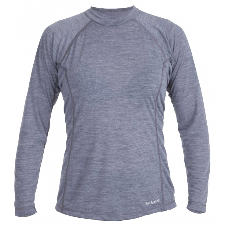 Woolcore longsleeve:   Our new WoolCore baselayer insulation combines the warmth of wool with the superior moisture wicking, durability and dry time of polyester. The super-soft, chlorine-free wool is grown in New Zealand, and cut and sewn in California.