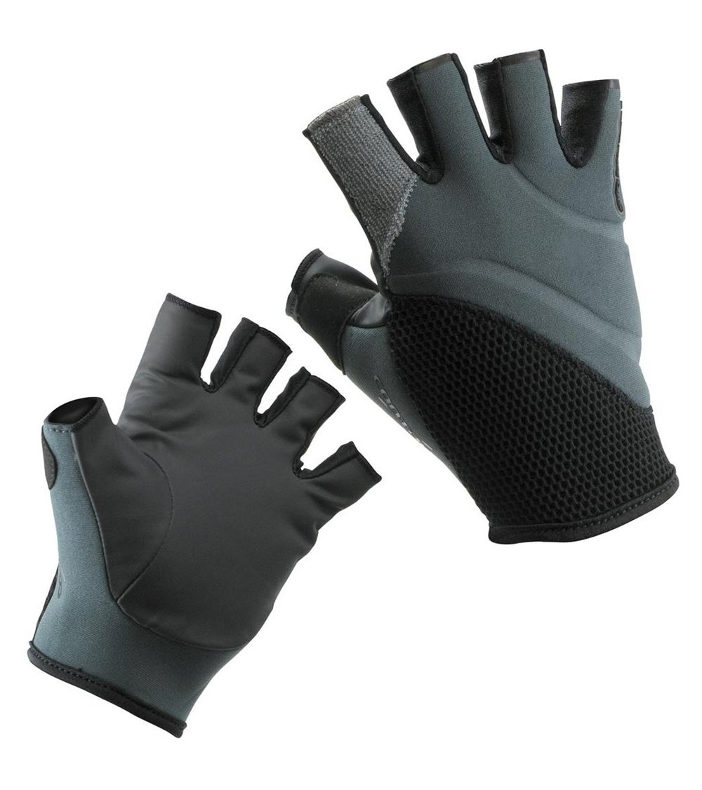 Stohlquist Contact Glove:   A special paddler's glove offering protection and warmth without giving up the feel for the paddle, helping you retain precise feel and control. The Contact's design has a non-slip grip similar to bare hands, wet or dry.