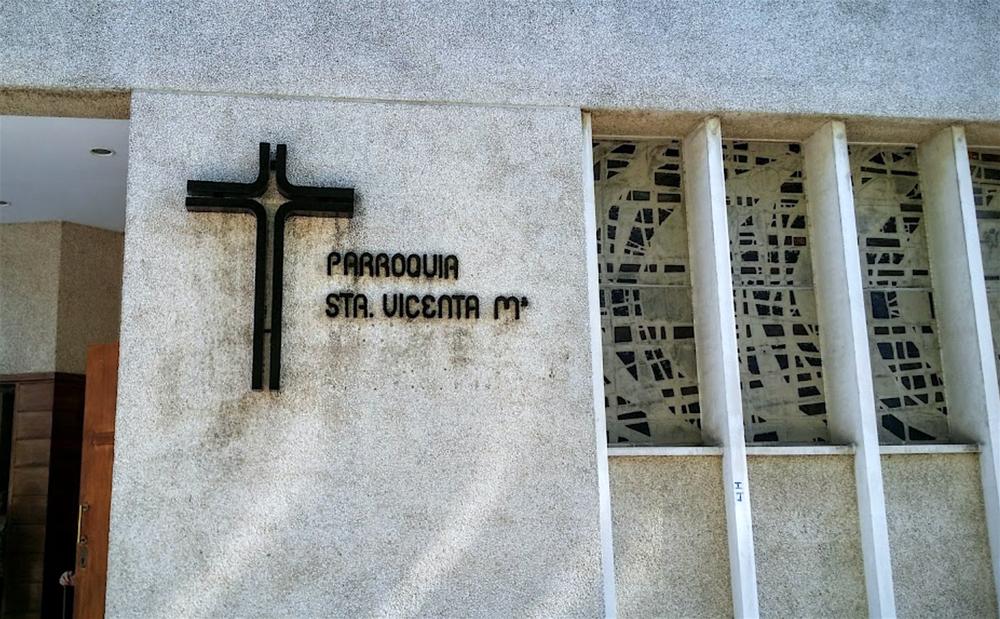 Parroquia de Santa   Vicenta María en  Pamplona , sede elegida para desarrollar el proyecto  Amén .