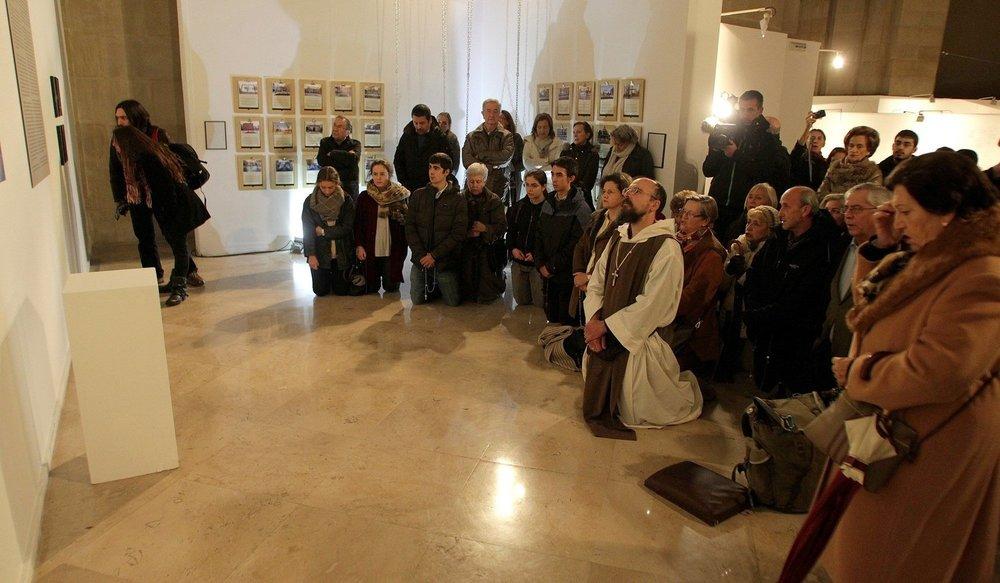 Fotografía cedida al proyecto Amén por  Diario de Noticias de Navarra . © Javier Bergasa