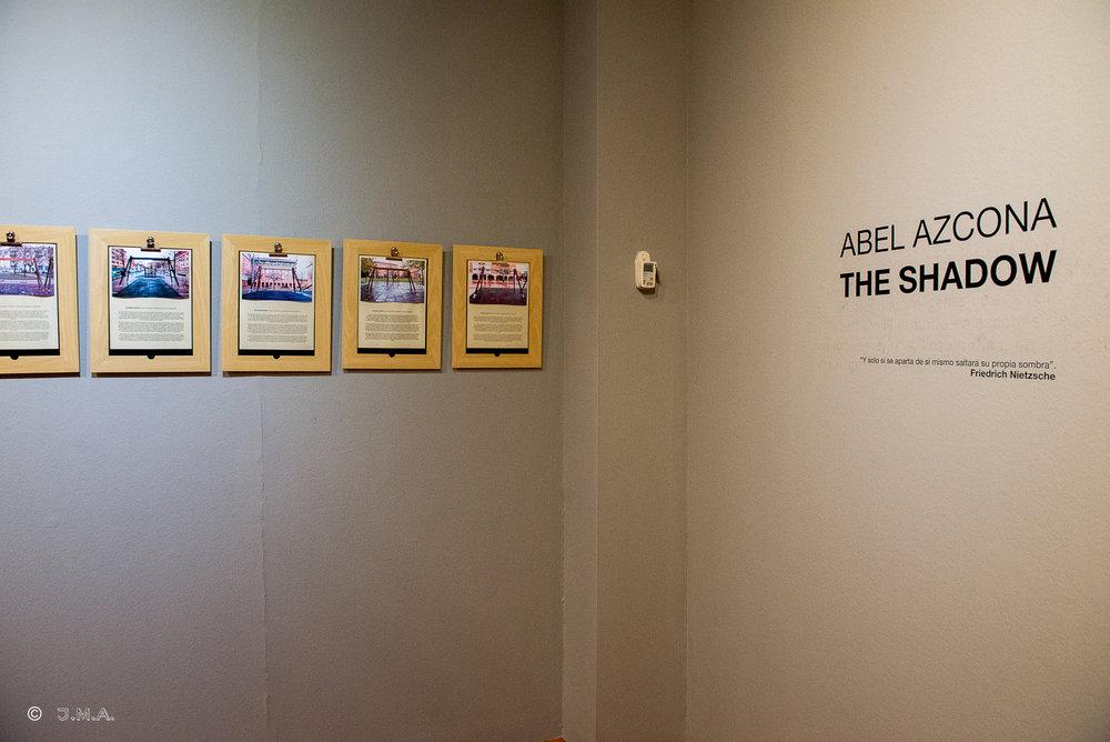 Exposición  Abel Azcona  I  The Shadow en  Centro de Historias  de  Zaragoza. Opening 29 Agosto de 2015.