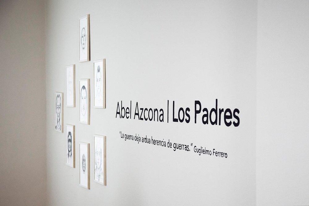 Exposición y performance  Abel Azcona  I  Los Padres  en  Las Cortes 4. Inauguración 26 de Junio de 2016.
