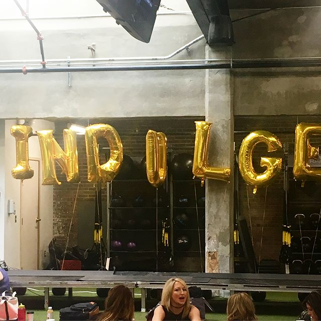"Just thinking about an amazing event I went to this past weekend @we.indulge #fbf 👏🏼It was full of badass women connecting and sharing of themselves for the betterment of others.  We even did a little yoga flow and got in a good sweat.  And there were plenty of snacks and drinks from all the good places around town. 🙌🏼Snacks are my favorite.  Some takeaways: ✨Be responsible for the energy you bring into the room- this really resonated with me as I know when I can feel others energy (especially bad juju) and it can shift an entire room of people (like your family every day). And it's also I something I need to work on and take responsibility for myself. ✨Bless and release relationships that no longer serve you- this was also such a great takeaway as it gives anyone permission to really look at relationships and think ""I don't think this person brings out the best in me but I don't wish them harm."" 😊I can't wait for the next one!"