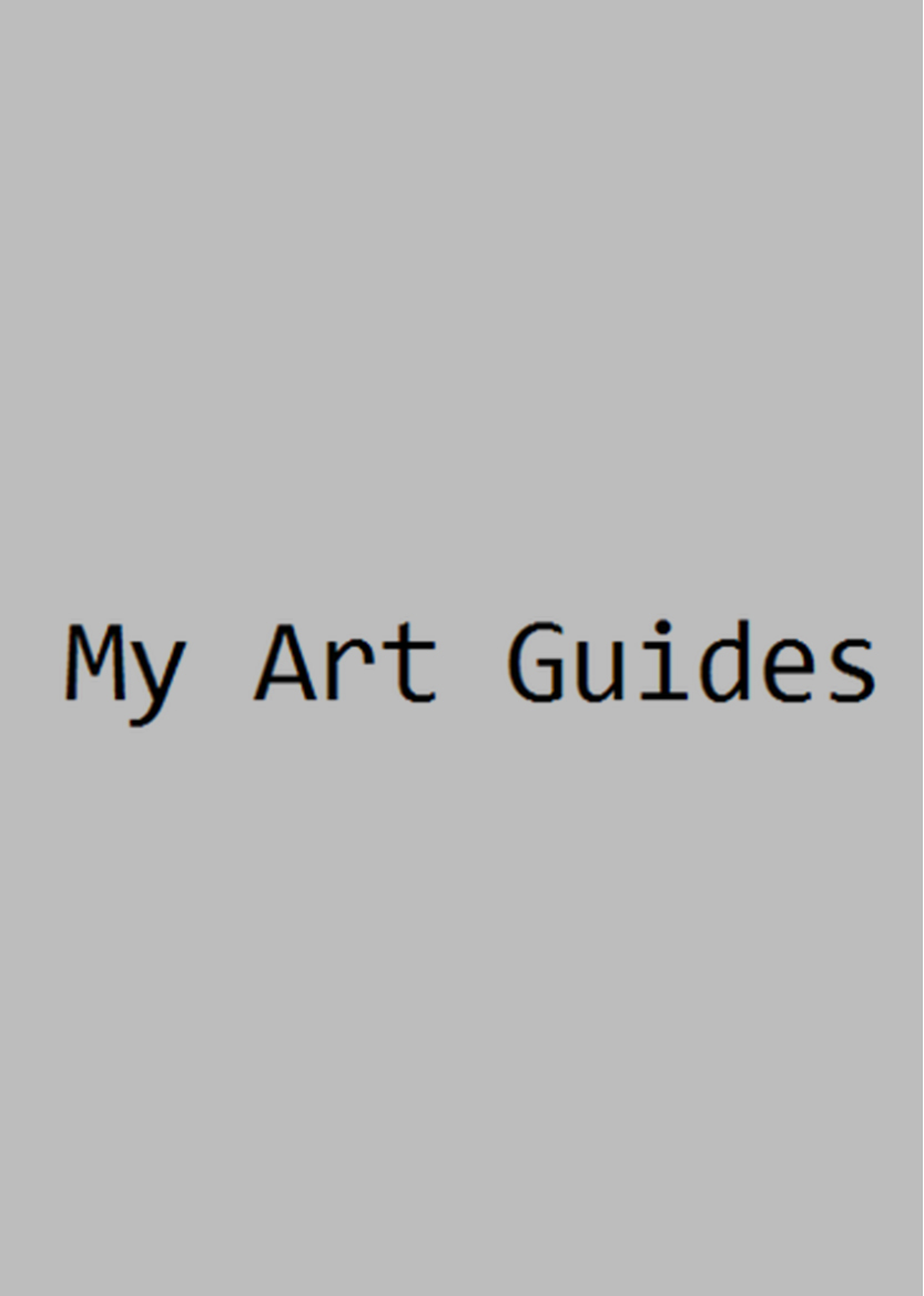 My Art Guides / Jan 2016