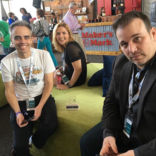 """Hanging at the Sonoma Film Festival waiting to premiere """"Veracruz"""" at the ultra hip Celebrity Cruises Theater... @celebritycruises @sonomafilmfest"""