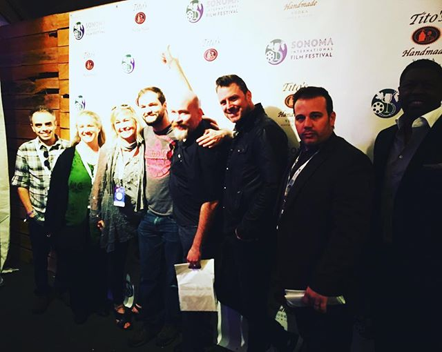 Cast and crew from first screening of VERACRUZ! @sonomafilmfest