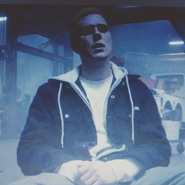 Jared Abrahamson as the lead, Jimmy Hill, in Veracruz, premiering April 1. @thedangerous.r.e.d @sonomafilmfest