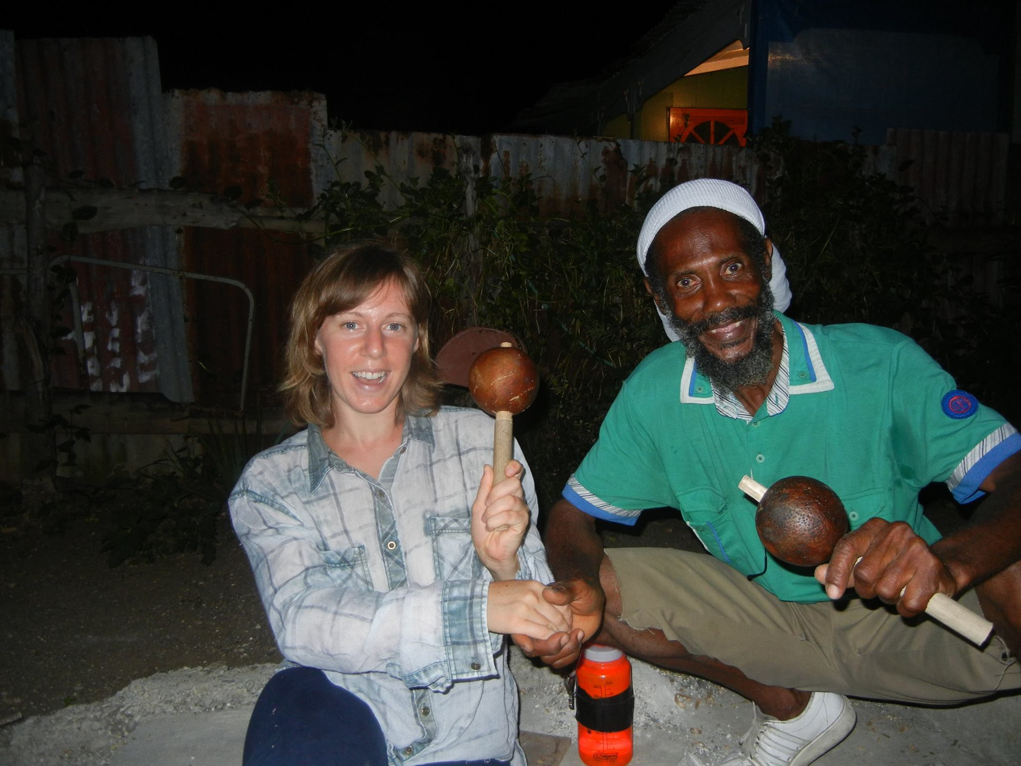 Finished calabash shake shakes. Photo by Babs.
