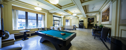 - $1,225 - $1,695  |  1 + 2 bedroomsA fully appointed lobby completed with espresso bar, billiards room, and lounge will greet you in style. A fitness center will entertain and relax you with wide screen plasma televisions, a tanning room, and on site massage room. A roof deck with an amazing city view and communal courtyard will provide a place to hang our or entertain. The modern amenities in your home, including all the things you like – oversized rain shower heads, stainless steel appliances, and stylized master baths – make your urban space a sanctuary you won't want to leave. Community AmenitiesLuxuries:Tanning BedFitness CenterRooftop DeckPlanned Social EventsComplimentary Wifi in LobbyMassage Room – Learn MorePrivate Communal CourtyardAnimal Friendly! – See Pet PolicyMultiple Rooftop Common Areas24 Hour Emergency MaintenanceComplimentary coffee and tea, pool table, seating area and more!Apartment AmenitiesHardwood FloorsCustom Window TreatmentsEnergy Efficient WindowsCentral Air ConditioningHigh Efficiency FurnacesPre-wired for Internet, Cable and PhoneTime Warner Standard Cable Included*Washer/dryer in unit**Two story with overlooking loft, floor to ceiling windows**Expansive Patio Convenience:ElevatorLaundry FacilityTrash Chute on Each FloorSecurity:Electronic Guest Entry System24/7 In-unit Security Video FeedSecurity Cameras Throughout the PropertySecure Gated Parking with Resident Access CardsBedroom:Sisal CarpetingSpacious ClosetsBathroom:Granite CountertopsCustom CabinetryPedestal Bathroom SinksAdjustable Mounted MirrorsSpa Rain ShowerheadsKitchen:Stainless Steel AppliancesGranite CountertopsAll-wood Designer CabinetrySelf-cleaning OvensRefrigerator includes ice-makerBuilt-in Microwave Oven*May require additional fees**Select floor plans only