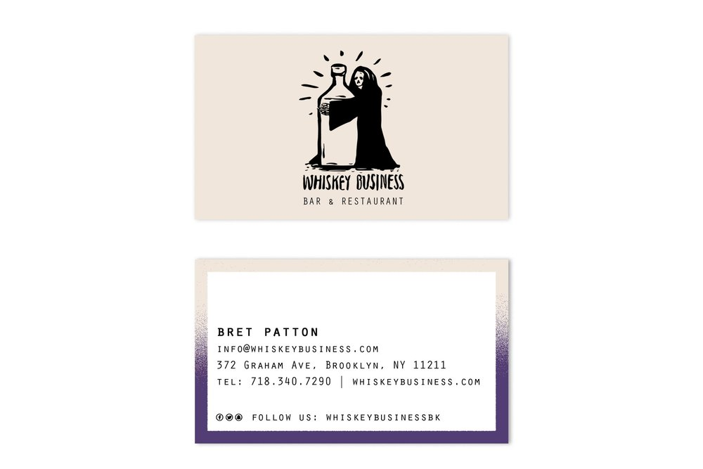 Business Card- Front & Back