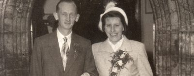 In the summer of 1955 at a small Parish Church in the village of Humberston, northern England, Ian Bierley's Mother and Father were joined in holy matrimony. Back in those days cameras and film were nothing like they became and the photograph is one of only a few taken that day at the wedding.